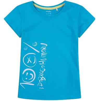 Endo - Bluzka z krótkim rękawem dla dziewczynki 9-13 lat D81G661_1