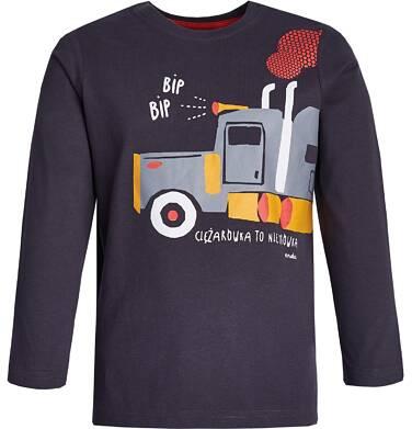 """Endo - """"Ciężarówka to nie mrówka"""" T-shirt z długim rękawem dla chłopca 3-8 lat C82G030_1"""