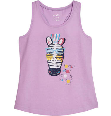 Endo - Top na ramiączkach dla dziewczynki 3-8 lat D81G083_1