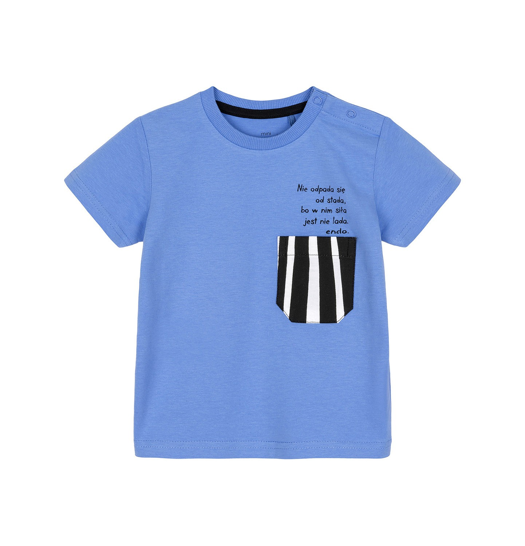 Endo - T-shirt z krótkim rękawem dla dziecka 0-3 lata N91G085_1