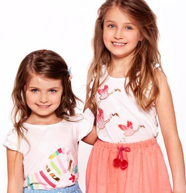 Endo - Top na ramiączkach dla dziewczynki 3-8 lat D91G103_1