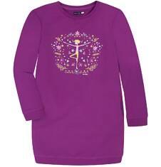 Sukienka o charakterze bluzy dla dziewczynki 9-13 lat D72H561_1