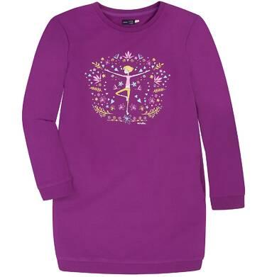 Endo - Sukienka o charakterze bluzy dla dziewczynki 9-13 lat D72H561_1