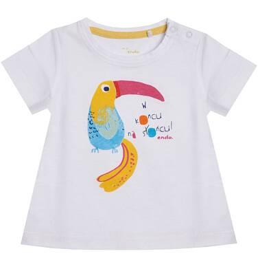 Endo - T-shirt z krótkim rękawem dla dziecka 0-3 lata N81G027_1