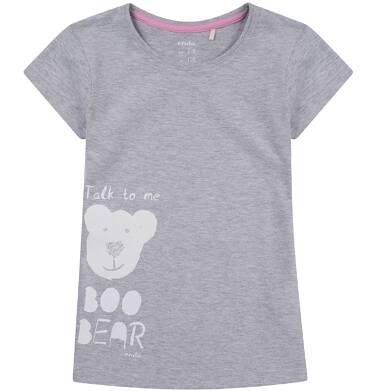 Endo - Bluzka z krótkim rękawem dla dziewczynki 9-13 lat D81G665_1