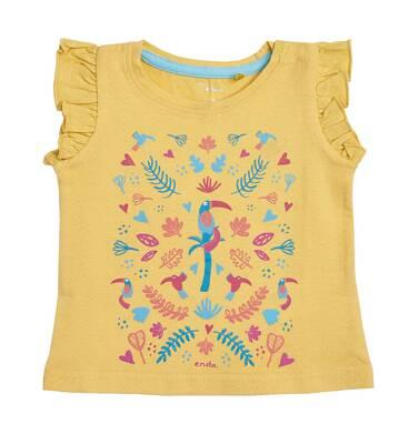 Endo - Bluzka z krótkim rękawem dla dziecka 0-3 lata N81G029_2