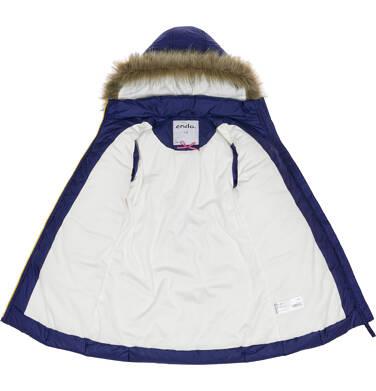Endo - Płaszcz zimowy dla dziewczynki 9-13 lat D92A502_1