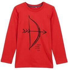 T-shirt z długim rękawem dla chłopca 3-8 lat C62G071_1