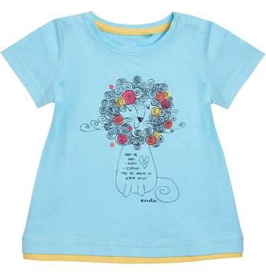 Endo - Tunika z krótki rękawem dla dziecka 0-3 lata N81G030_1
