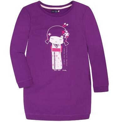 Endo - Sukienka o charakterze bluzy dla dziewczynki 9-13 lat D72H509_1