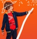 Endo - Rozpinana bluza z kapturem dla chłopca, z naszywką zawsze do przodu, 2-8 lat C05C027_1,1