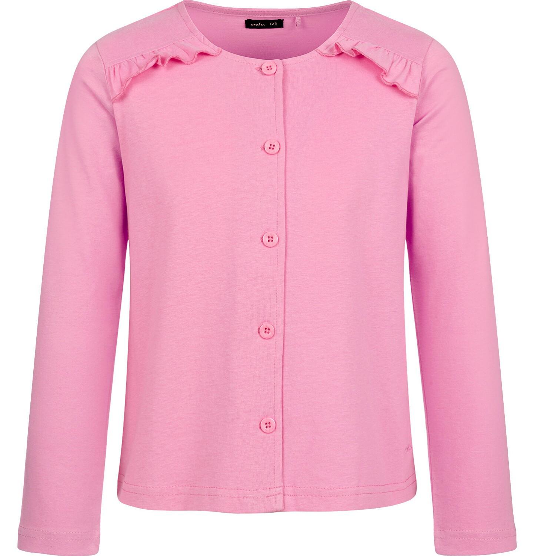 Endo - Rozpinana bluza dla dziewczynki, różowa, 2-8 lat D03C016_2
