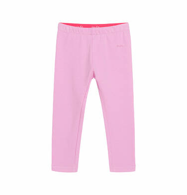Legginsy dla dziecka do 2 lat, różowe N03K014_4