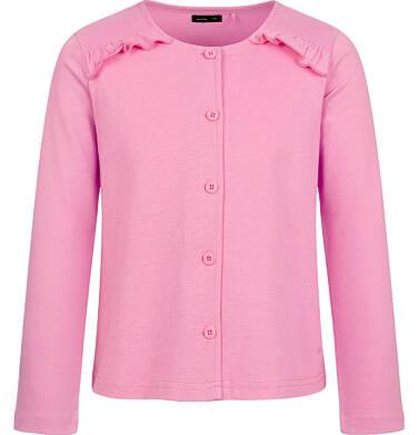 Rozpinana bluza dla dziewczynki, różowa, 9-13 lat D03C516_2