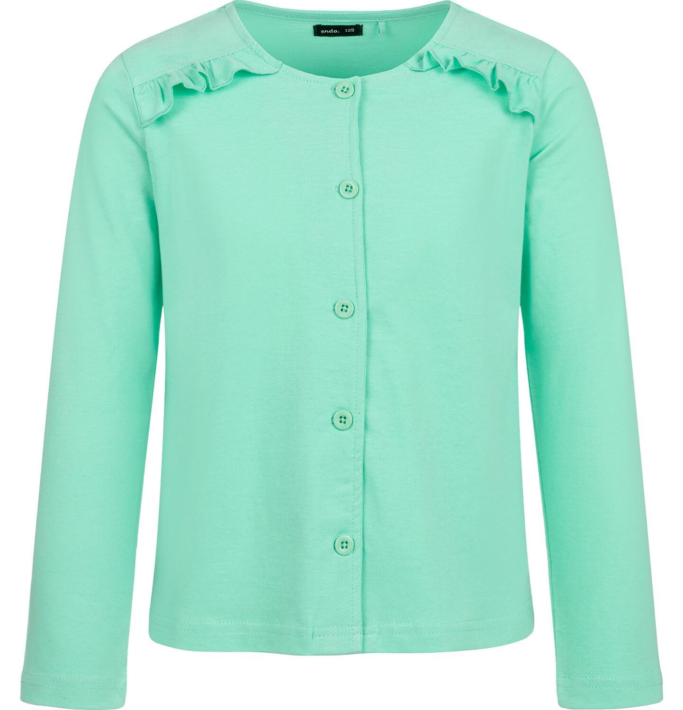 Endo - Rozpinana bluza dla dziewczynki, zielona, 2-8 lat D03C016_3