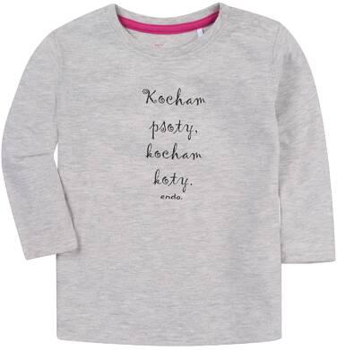 Endo - Bluzka z długim rękawem dla dziewczynki 1-3 lata N81G052_1