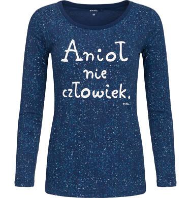 """Endo - """"Anioł nie człowiek"""" Bluzka z długim rękawem Y82G010_1"""