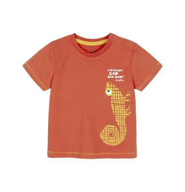 T-shirt z krótkim rękawem dla dziecka 0-3 lata N91G086_1