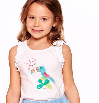 Endo - Top na ramiączkach dla dziewczynki 3-8 lat D91G103_2