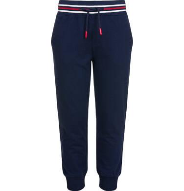 Spodnie dresowe dla chłopca, ciemnogranatowe, 9-13 lat C03K506_1