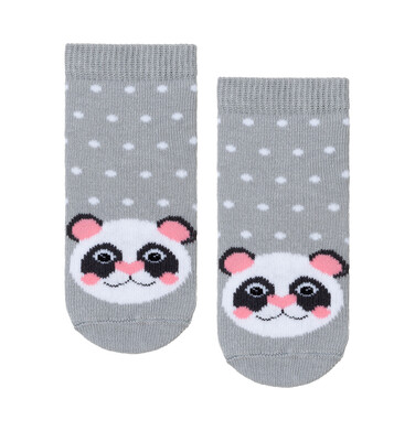 Endo - Kolorowe skarpetki dziecięce Panda D08P043_1 2
