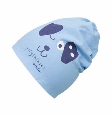Endo - Czapka dla dziecka do 2 lat, pies - przytulasek N03R003_1