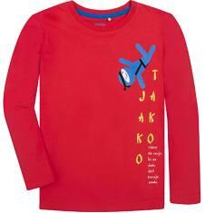 T-shirt z długim rękawem dla chłopca 9-13 lat C72G602_1