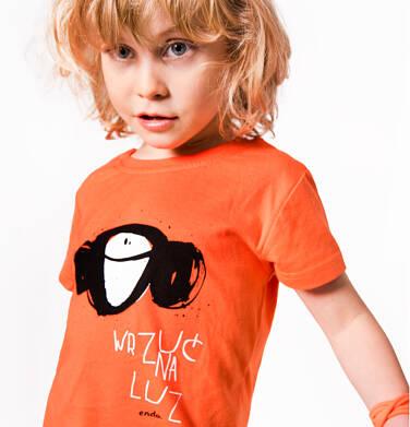 Endo - T-shirt z krótkim rękawem dla chłopca 3-8 lat C81G117_1