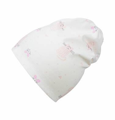 Endo - Czapka dla dziecka do 2 lat, deseń w koty N03R005_1