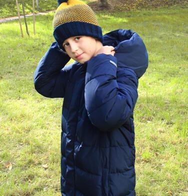 Endo - Długa kurtka zimowa dla chłopca, granatowy, 2-8 lat C08A001_1 10