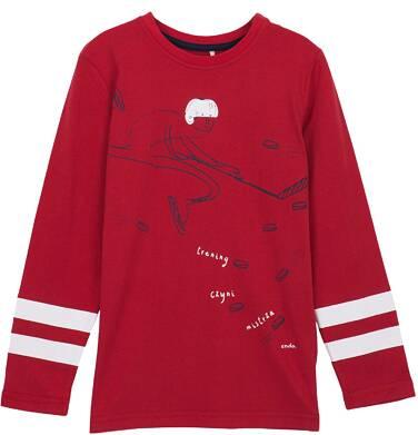 Endo - T-shirt z długim rękawem dla chłopca 3-8 lat C62G124_1