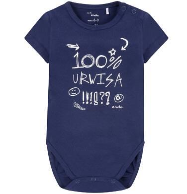Endo - Body z krótkim rękawem dla dziecka 0-18 m-cy N81M002_1