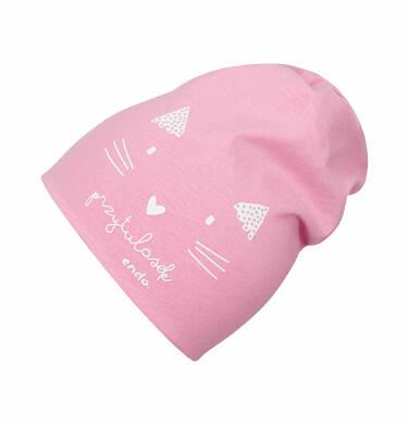 Endo - Czapka dla dziecka do 2 lat, kot - przytulasek N03R006_1