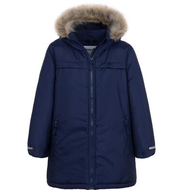 Endo - Długa zimowa kurtka dla chłopca, granatowy, 2-8 lat C08A003_1 12
