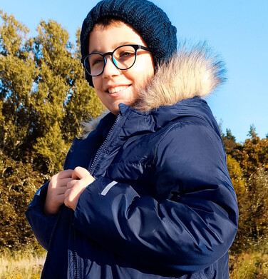 Endo - Długa zimowa kurtka dla chłopca, granatowy, 9-13 lat C08A503_1 20