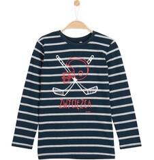 Endo - T-shirt z długim rękawem dla chłopca 9-12 lat C62G626_1