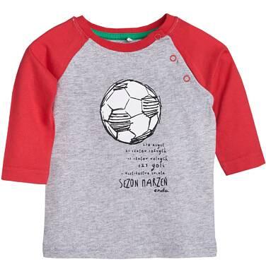 Endo - T-shirt z długim rękawem dla dziecka 6-36 m N81G011_1