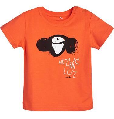 Endo - T-shirt z krótkim rękawem dla dziecka 6-36 m N81G016_1