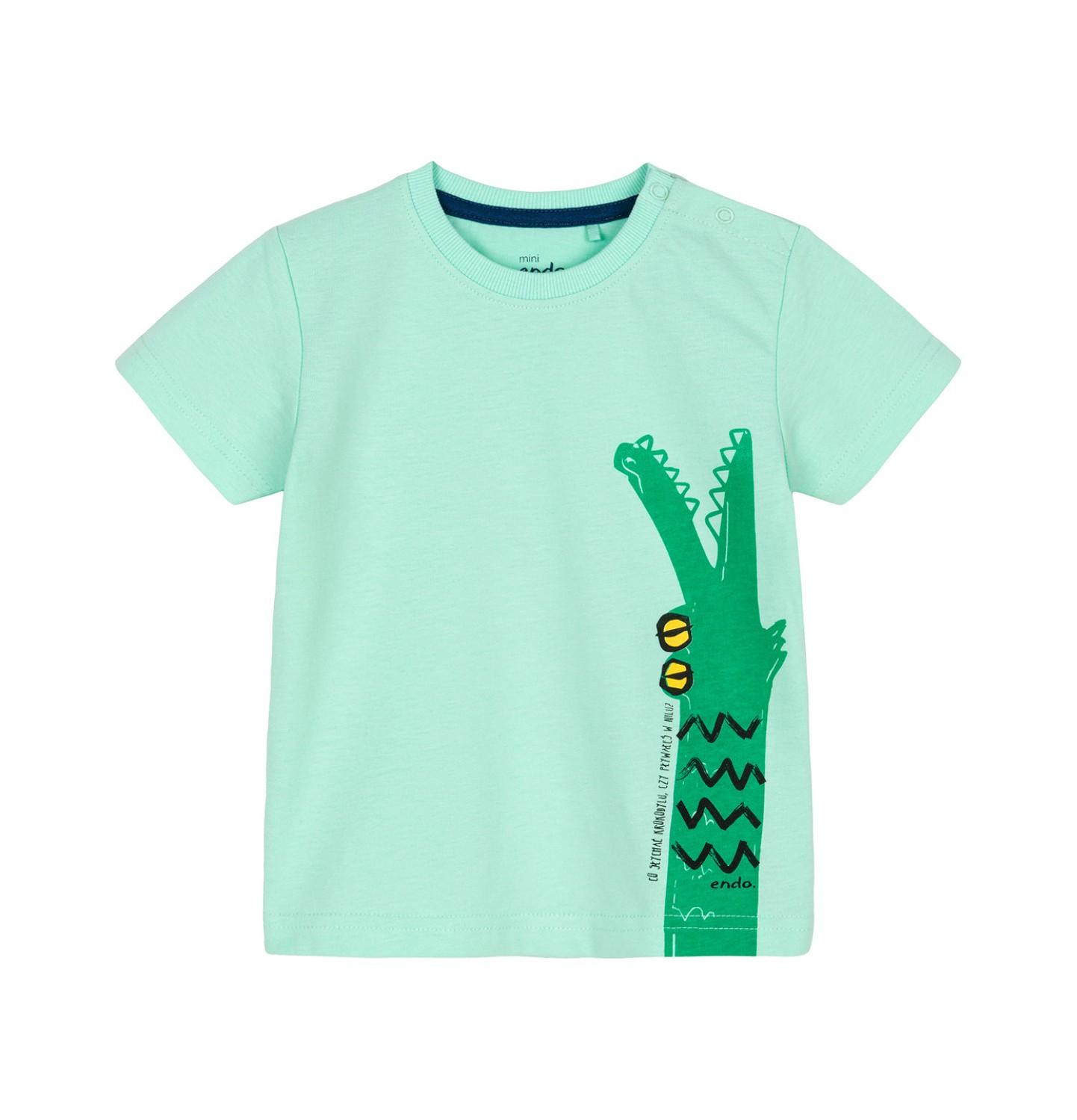 Endo - T-shirt z krótkim rękawem dla dziecka 0-3 lata N91G087_1