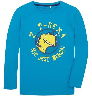 Endo - T-shirt z długim rękawem dla chłopca 9-13 lat C72G607_2