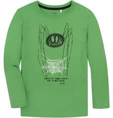 T-shirt z długim rękawem dla chłopca 9-13 lat C72G621_1