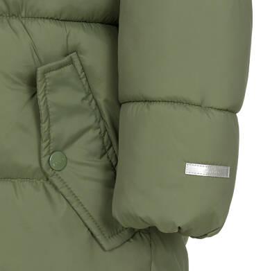 Endo - Zimowa kurtka dla chłopca 9-13 lat, długa, zielona, na flanelowej podszewce, ciepła C92A505_2,7