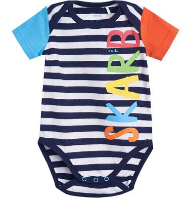 Endo - Body z krótkim rękawem dla dziecka 1-18 m-cy N81M026_1