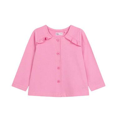 Endo - Bluza rozpinana dla dziecka do 2 lat, różowa N03C006_2