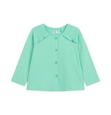 Endo - Bluza rozpinana dla dziecka do 2 lat, miętowa N03C006_3 9