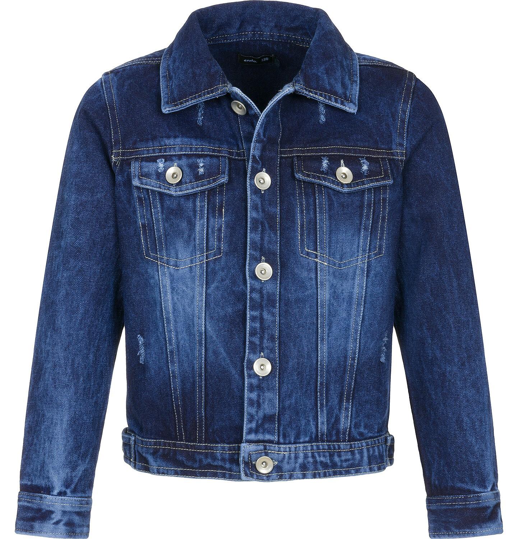 Endo - Kurtka jeansowa dla dziecka 3-8 lat C91A008_1