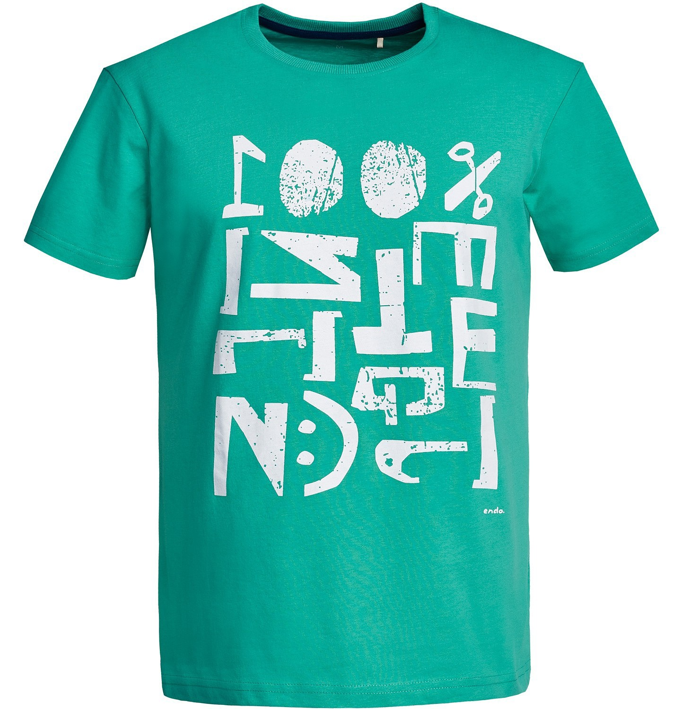 Endo - T-shirt męski Q81G013_1