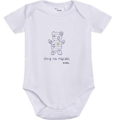 Endo - Body z krótkim rękawem dla dziecka 1-18 m-cy N81M031_1