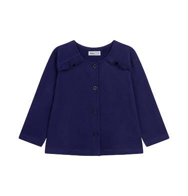 Endo - Bluza rozpinana dla dziecka do 2 lat, granatowa N03C006_5