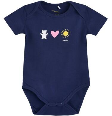 Endo - Body z krótkim rękawem dla dziecka 1-36 m N81M033_1